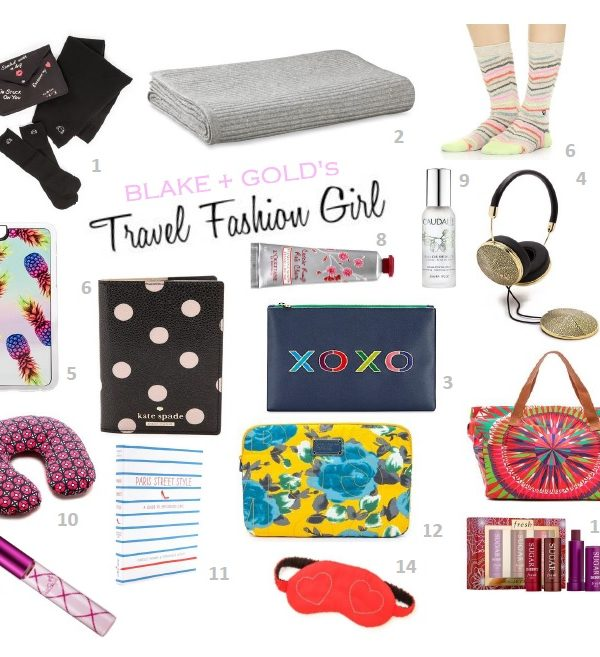 Travel Fashion Girl Essentials