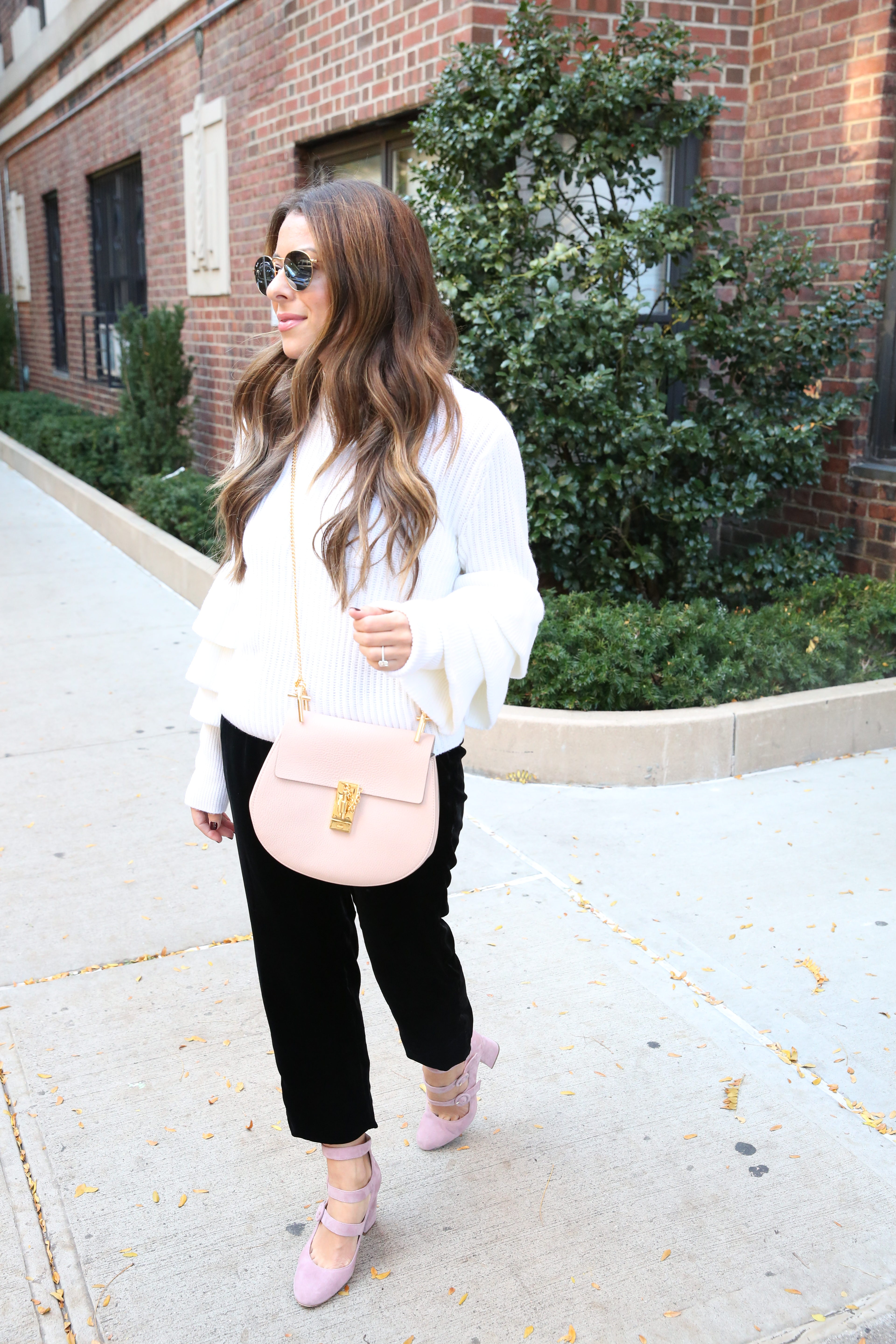 Arianna of Blake and Gold in a Chloe Bag