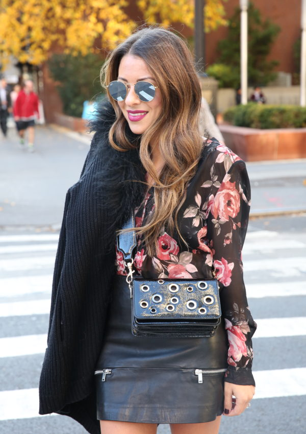 Grommets + Fur and Floral